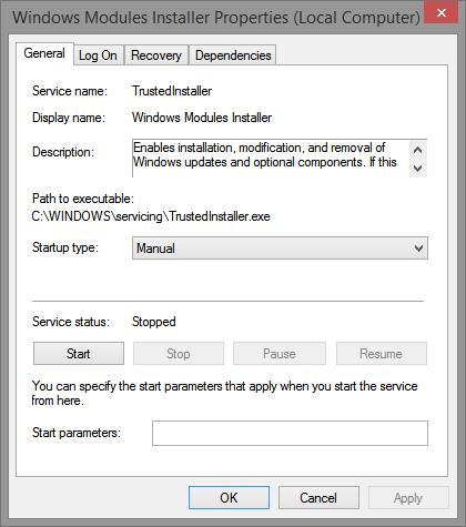 Fix TrustedInstaller.exe High CPU Usage Issue