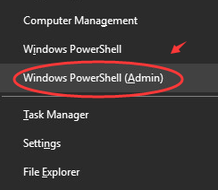 Windows Power Shell Admin