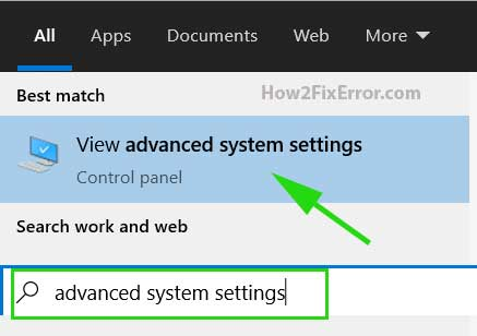 search_advanced_system_settings
