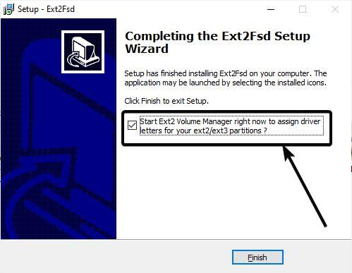 EXT on Windows 2