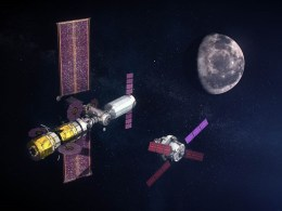 ISS Into Orbit Around The Moon