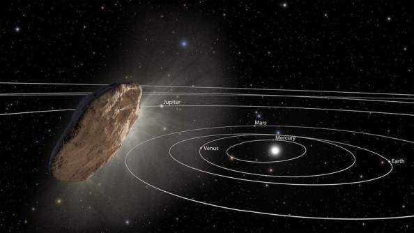 Alien spacecraft- oumuamua