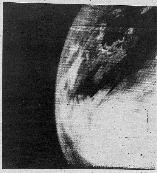 first satellite photograph of the Earth