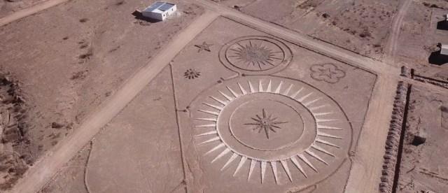 UFO landing base