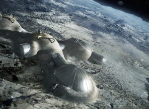 Alien Bases On Moon
