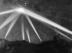 UFO battle in Los Angeles, 1942