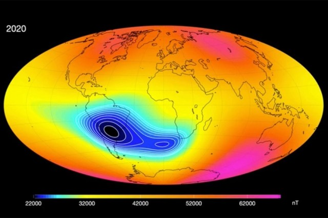 Earth's Magnetic Field Is WEAKENING