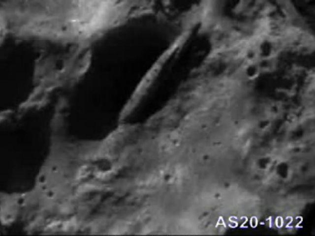 Alien Spaceship Found On Moon With Alien Bodies