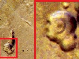 Giant Buddha Face Found On Mars