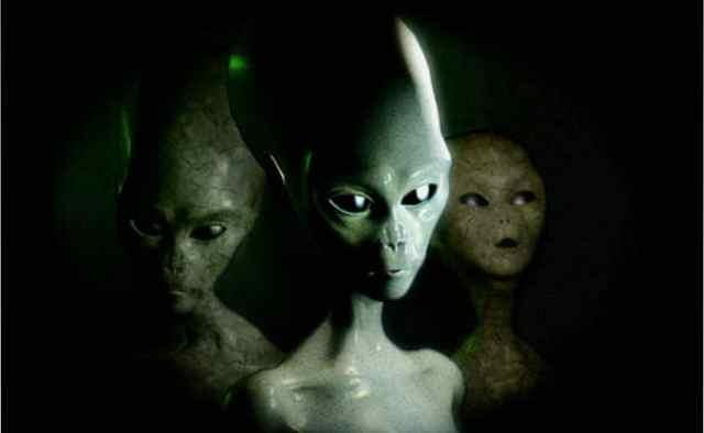 Three Alien Species