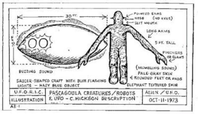 Pascagoula alien abduction