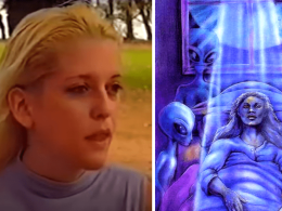 Amy Rylance alien abduction