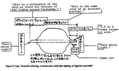flight JAL 1628