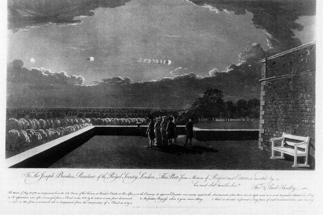 Windsor Castle UFO sighting