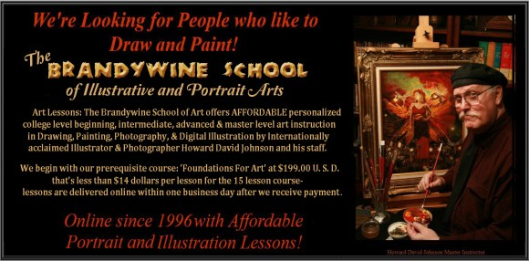 Art Lessons; The Brandywine School of Art: featuring Realistic ...
