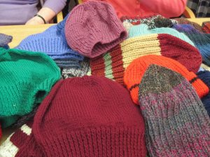 Just a few of the lovely Woolly Hats!