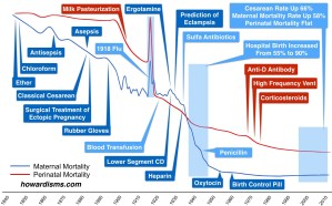 Historic Decline in Maternal Mortality