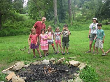 Superhero Staff at Howard County Conservancy Summer Nature Day Camps
