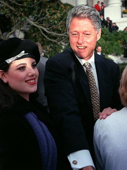 BILL AND MONICA 1996