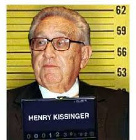 HENRY KISSINGER MUGSHOT