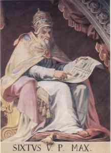 Pope_Sixtus_V