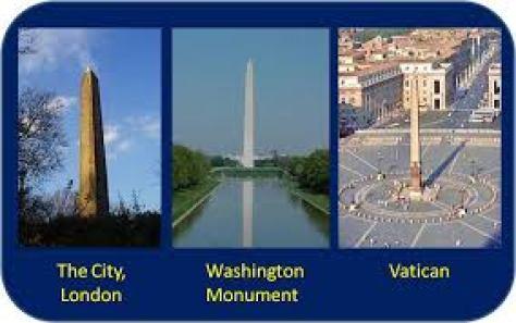 THREE CITY STATES OBELISKS