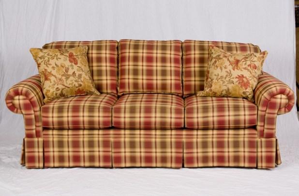 Broyhill Green Plaid Sofa Www Gradschoolfairs Com