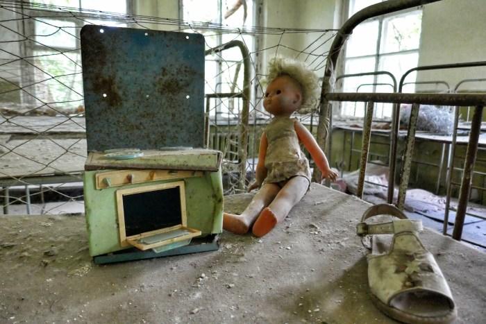 Visit Chernobyl tour dolls