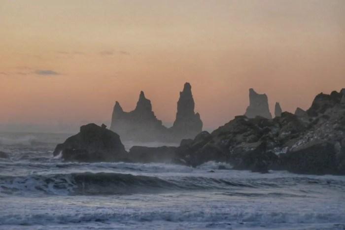 Vik, Reynisdrangar and Reynisfjara in the winter, Iceland road trip