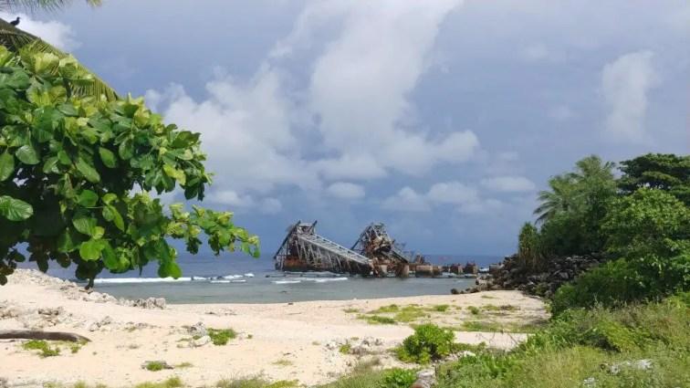 Nauru phosphate mining