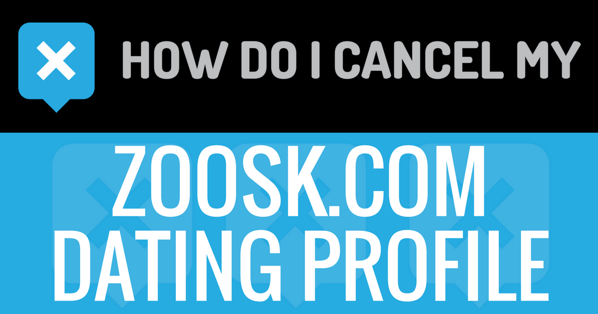 How to deactivate your zoosk account