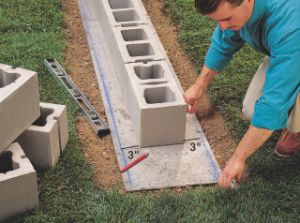 How to Lay Concrete Block