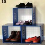 A shoe cubby