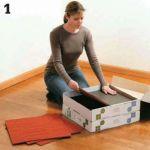 Install Carpet Squares 1