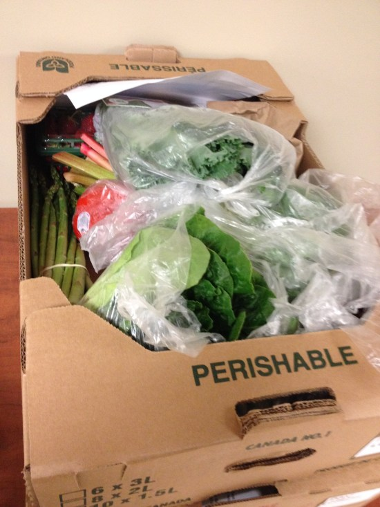 good food box fruits and vegetables