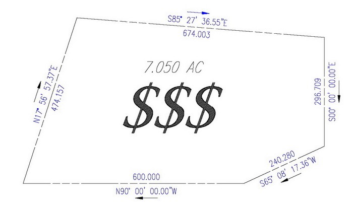 how much does a property line survey cost