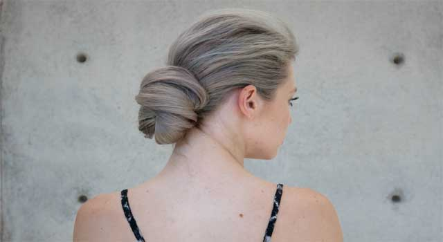 How to style Hair with a Chignon