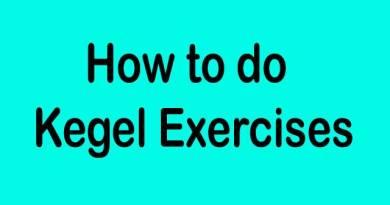 How To Do Kegel Exercises