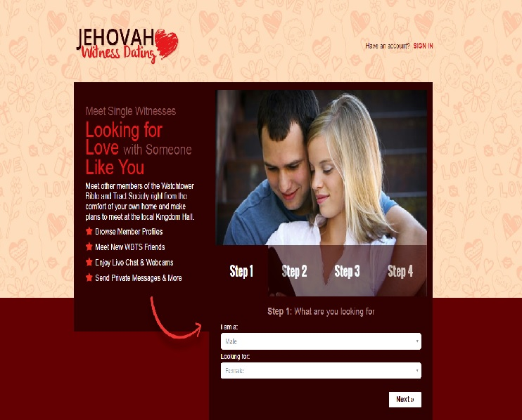 Jehovah dating site