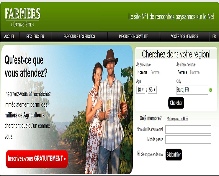 Farmers dating sites in canada