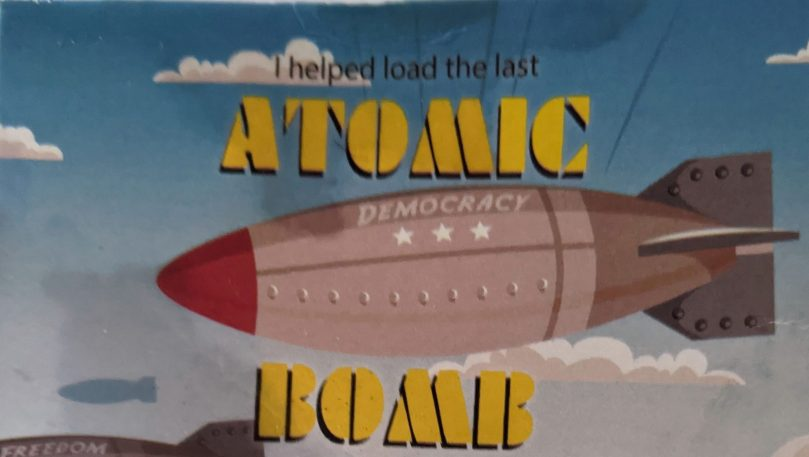 Atomic Bomb Business Card