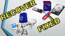 How to Fix and Recover Data: SD Card, USB Drive, Hard Disk