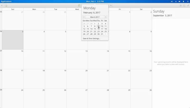 Calendar App