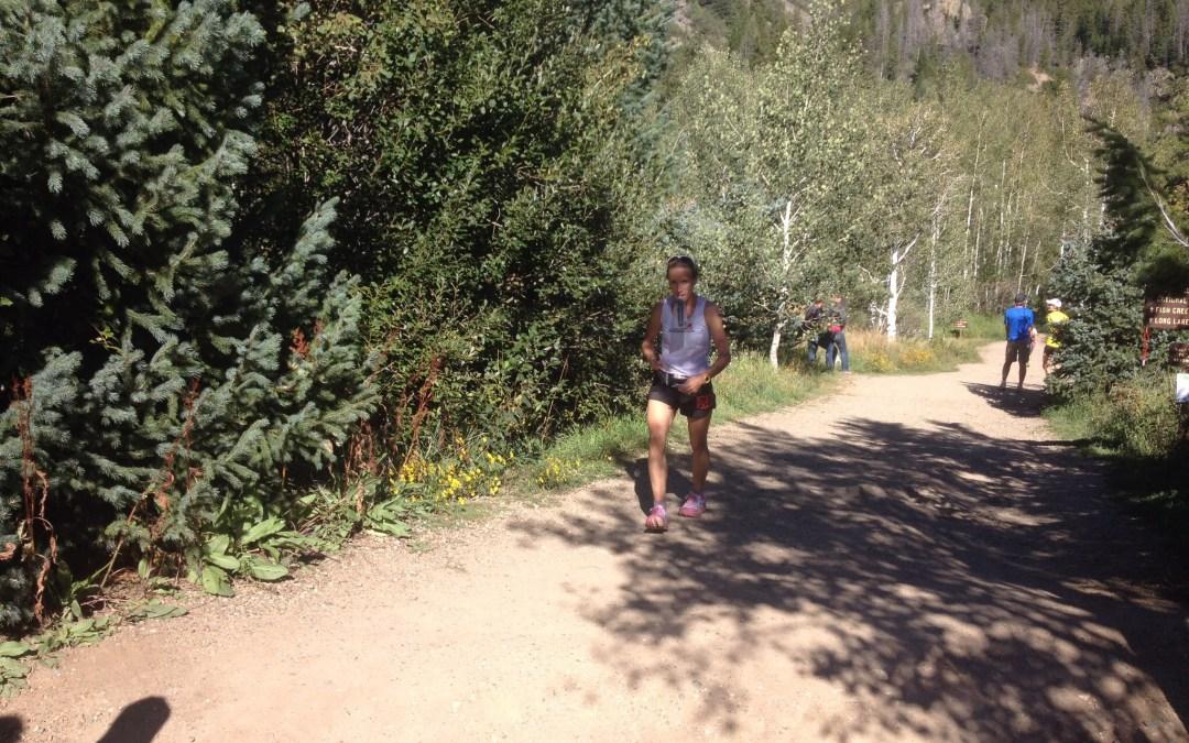 Crewing Les at Run Rabbit Run