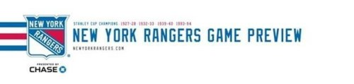 Rangers Game Preview
