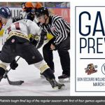 TOSTI: PREVIEW: GREENVILLE THIRSTY FOR PLAYOFF POINTS IN RETURN HOME