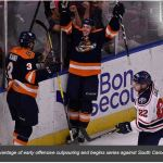 TOSTI: SWAMP RABBITS LAUNCH TO EARLY LEAD IN GAME 1 VICTORY