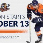 TOSTI: RABBITS HOME OPENER ON FRIDAY THE 13th (OCTOBER)