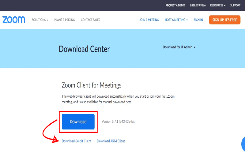 download zoom app for pc