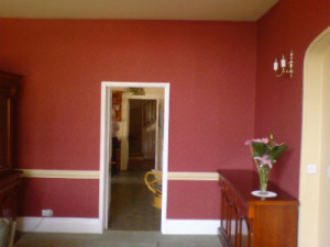 House paint colors for your home   How much to paint a house interior house painting red and white